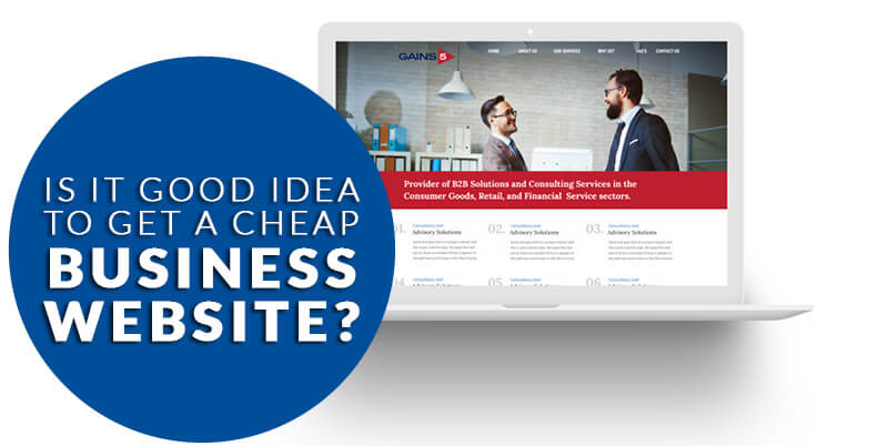 Is cheap website design a good idea for Small Business in Melbourne?